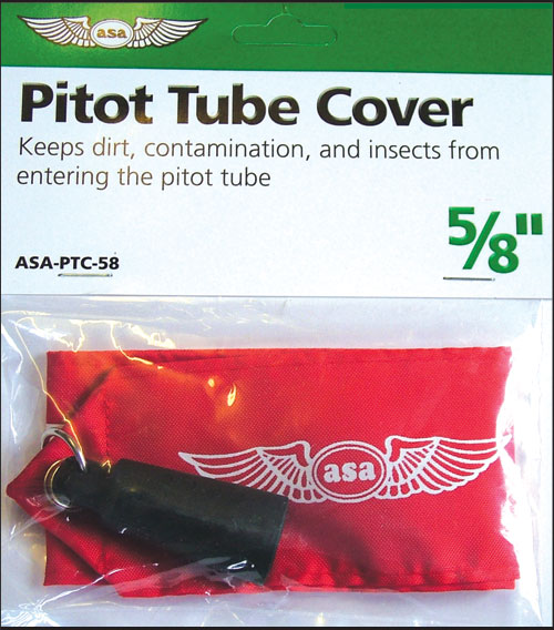 ASA 3/4 inch round pitot cover